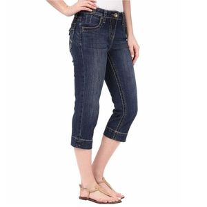 #111 Kut from the Kloth Natalie Crop Jeans 4 Small